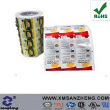 Self Adhesive Glossy Sealed Full Color Clear Oil Resistant Labels