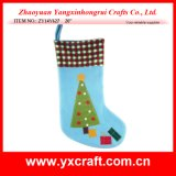 Christmas Decoration (ZY14Y627 20′′) Christmas Tree Sock