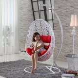 New Outdoor Swing, Rattan Furniture, Rattan Basket Rattan Hanging Swing Chair (D019A)