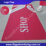 Factory Wholesale Digital Printing Polyester Custom Advertising Flag, Logo Flag, Company Flag