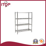 Stainless Steel AISI201 Economical 4 Tiers Storage Rack (SR-R06)