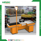 Supermarket Electric Checkout Counter with Conveyor Belt