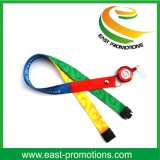 Custom Dye Sublimation Double Sided Lanyards with Swivel Metal Clip
