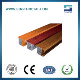 Wood Grain Aluminum Extrusion Frofile