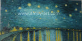 Reproduction of Famous Artist---Van Gogh Starry Night Oil Painting