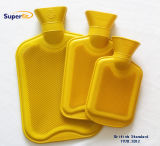 Different Size Yellow Color Medical Rubber Hot Water Bottle