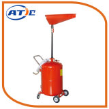 65L Waste Oil Drainer, Oil Drain Tank with Adjustable Tray