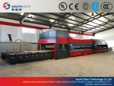 Southtech Combination Passing Flat and Cross Bending Glass Tempering Machine (NTPWG)