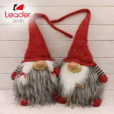 Competitive Price Handmade Red Hat Fabric Doll Christmas Decor