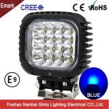 High Intensity 12V 48W 5inch Blue LED Spot Light for Farming (GT1013B-48W Blue)