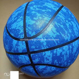 High Quality Composite PU Leather Laminated Basketball Training Use