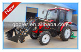 LZ404, 40HP, 4WD Garden Tractor Fit with 4in1 Front End Loader, Backhoe