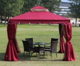 Garden Marquee with Polyester Canopy Wall