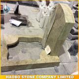 Kashmir Gold Germany Style Granite Tombstone Price