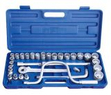 "32PCS 1/2"" 12.5mm Series Hand Tool Socket Wrench Set"