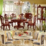 Dining Table with Arm Sofa Chair for Dining Room Furniture