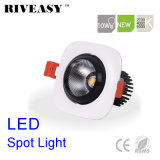 10W Square Aliuminum COB Black LED Downlight LED Lighting LED Spotlight