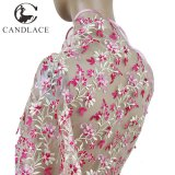 Latest 3D Lace Fabric Embroidery Designs with Stone