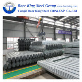 Pre-Galvanized Round Hollow Section ERW Welded Iron Carbon Steel Tubes/Pre-Galvanized Round Steel Pipes for Construction Material
