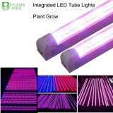 85-265V AC 60cm 90cm 120cm 150cm Plant Glrowth Integrated T8 Tube LED Grow Light High Quality