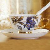 British Design Ceramic Cup and Saucer Porcelain Cup and Saucer Tea Cup and Saucer