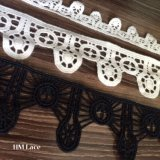 Lucky Clover Floral Lace Ribbon for Decoration Chemical Milk Fiber Material L100