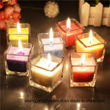 Free Sample Wholesale Tea Light Glass Candle Holders for Home Decoration
