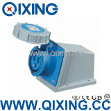 Qixing Surface Mounted Socket 16A 230V 3p 6h IP67