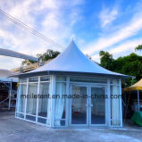 All-Weather Proof Tent Permanent Wedding Stretch Tent with Glass