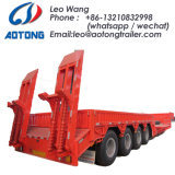 120tons 3 Lines 6 Axles Low Bed Semi Truck Trailer