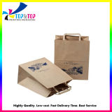 Cheap Wholesale Kraft Paper Printed Food Shopping Packaging Gift Bag