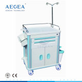 AG-Et015b1 Ce ISO Approved Medical Equipment with Wheels Hospital Trolley Price