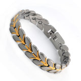 Wholesale New Design Unisex Bracelet with Plated Gold Color
