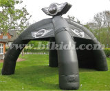 High Quality 4X4m Inflatable Spider Dome Tent for Sale K5121