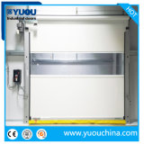 Industrial Automatic PVC Fabric Plastic Rapid Fast Acting High Speed Quick Rolling Shutter Roll up Roller Shutter Clean Room Security Garage Warehouse Door