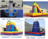Durable Safe Large PVC Kids Outdoor Climbing Wall, Inflatable Climbing Wall for Sports Games