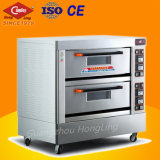 Commercial Double Deck Electric Restaurant Oven for Bread