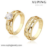10701 Xuping Special Price Lovers Ring with Synthetic CZ Plated