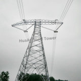 Multi Circuits Power Transmission Line Angle Steel Tower