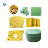 China Factory Electrical Insulation Fiber Board Insulation CNC Milling G10 Fr4 Board Epoxy Glass Cutting Processing Composite Baseboard