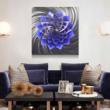 Wholesale 3D Metal LED Painting Handicraft Wall Arts Modern Home Interior Decoration From China