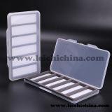 Wholesales Cheap Clear PVC Super Slim Plastic Fishing Hook Box