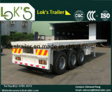 40 Feet Tri Axle Platform Semi Trailer