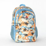 Waterproof Pattern Fabric Laptop School Travel Backpack in Good Quality