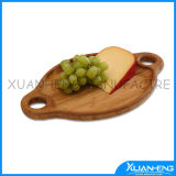 Bamboo Cheese Board with Knives Cheese Cutter Tools