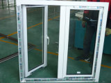 Double Leaf Open Outside PVC Casement Window