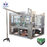 Automatic Aluminum Can Craft Beer Water Juice Carbonated Soft Drink Beverage Canning Filling Machine for Small Scale