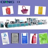 Full Automatic Newest Non Woven Fabric Bag Making Machine with Handle Attach