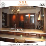 N&L Furniture 2016 New Design Solid Wood Kitchen Cabinet