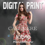 Manufacturer Digital Cashmere Printing on Fabric